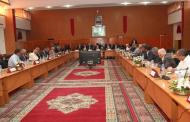 الاجتماع الثالت للجنة الاقليمية للمبادرة الوطنية للتنمية البشرية برئاسة عامل الاقليم