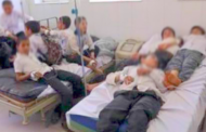 التغذية بمخيم الحوزية ترسل عشرات الأطفال إلى المستشفى