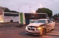 سائق حافلة النقل الحضري يلقي حتفه في حادثة سير خطيرة بالقرب من مسجد ابراهيم الخليل