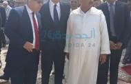 بالصور المندوبية الاقليمية لقدماء المقاومين وأعضاء جيش التحرير تنظم حفلا تابينيا بمقبرة الشهداء بجماعة الحوزية مقبرة