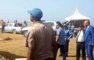 اضخم عملية اتلاف مواد محضورة تقوم بها السلطات في الاقليم على تراب جماعة مولاي عبد الله