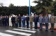 بالصور والفيديو مراسيم تحية العلم أمام مقر العمالة بمناسبة عيد الاستقلال
