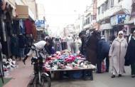 بسبب تواطؤ بعض العناصر شارع الزرقطوني اصبح مستعمرة خاصة لأصحاب المحلات التجارية+الصور