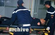 الاعتداء على ضابط شرطة في مصلحة حوادث السير من قبل 3 أشخاص