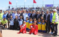 انطلاق دوري مدينة الجديدة في كرة القدم الشاطئية :OCP الجرف الأصفر