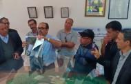 زيارة ميدانية لوفد من الاعلاميين والحقوقيين لمحطة الدورات لمعالجة وانتاج الماء الصالح للشرب