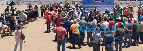 الدورة الاولى لدوري مدينة الجديدة في كرة القدم الشاطئية تحقق نجاح باهرا