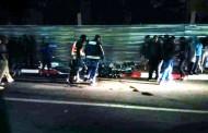 مصرع فتاة واصابة5 أشخاص في حادثة سير بالقرب من الاقامة العاملية بشارع الجيش الملكي منذ قليل