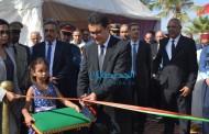 عامل الاقليم يقوم بتدشينات بمناسبة الاحتفالات بذكرى العشرين لتربع صاحب الجلالة محمد السادس