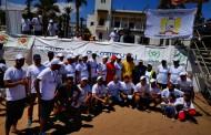 """جمعية """" أكت فور كوميونيتي """" Act 4community التابعة للمكتب الشريف للفوسفاط تنظم حملة النظافة لشاطئ الجديدة"""