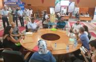 بالصور حضور باهت للجالية المغربية خلال الاحتفال باليوم الوطني للمهاجر بمقر عمالة الجديدة