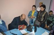 الكاتب و الاعلامي  محمد الصفى يوقع مجموعته القصصية