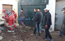 بالصور اعادة تأهيل سوق بير براهيم من طرف السلطات
