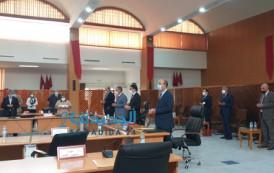 الجلسة الثانية للدورة العادية للمجلس الاقليمي هيمنت عليها عبارات الشكر والثناء