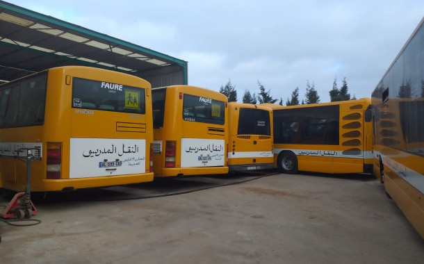 تعزيز النقل المدرسي باسطول من 54 حافلة من المجلس الاقليمي لاقليم الجديدة